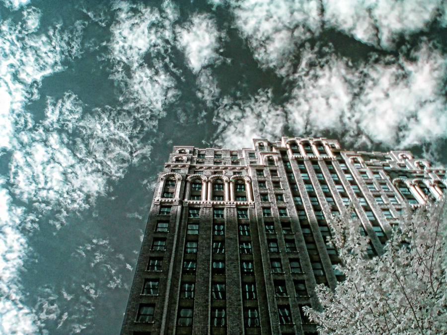 Building in NYC| Infrared