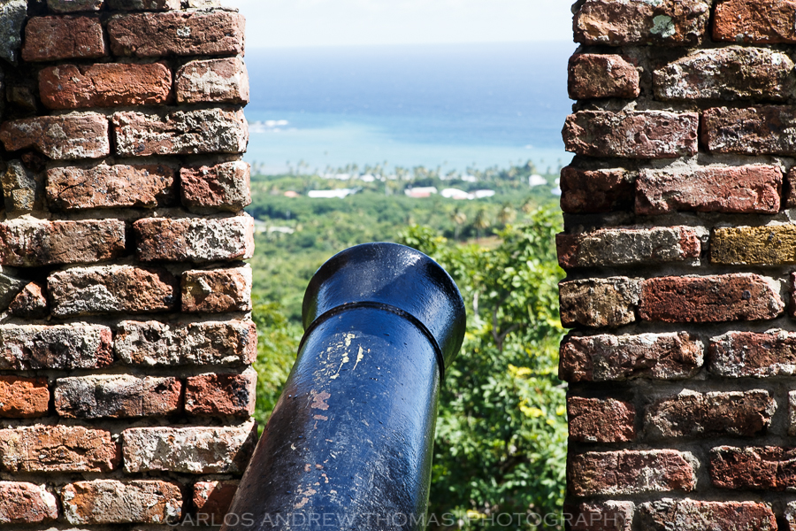 Canons on Fort George, Tobago