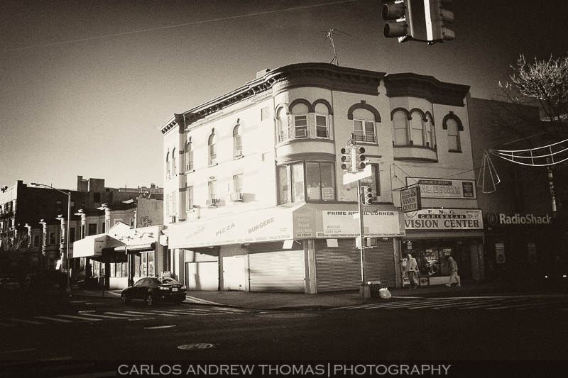 Flatbush - Infrared Photography in Brooklyn